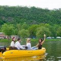 Půjčovna motorových člunů